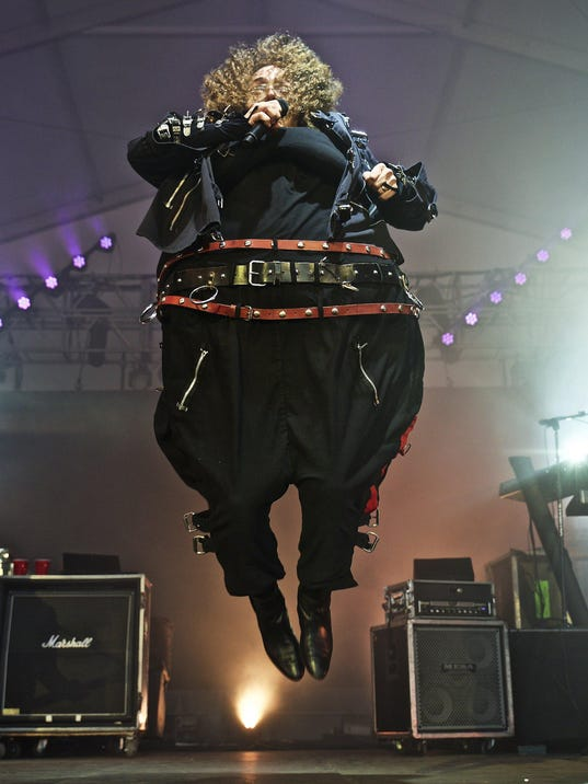 'Weird Al' Yankovic performs at The Governors Ball Music Festival