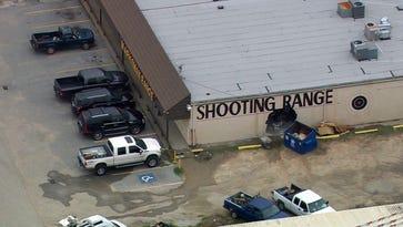 Burglars smash hole to indoor gun range; grab rifles, pistols