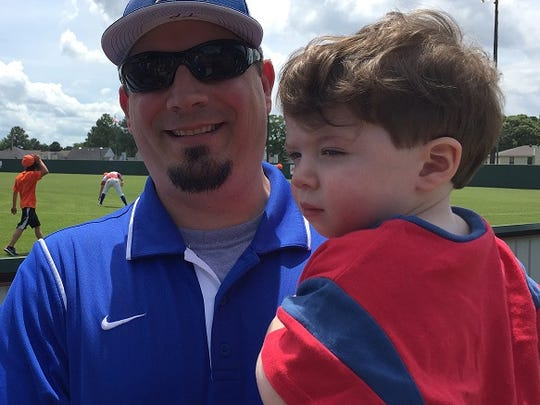 Former Southwood standout Trey Poland had his number retired at the school Saturday.