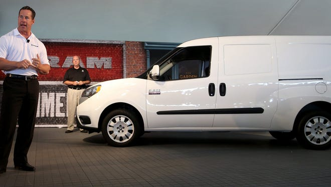 """""""So long as there are packages to be delivered, boxes to be delivered, electricians, plumbers and tradesmen who need to get to the job site, there is going to be a market for a van like this,"""" said Reid Bigland, Ram brand CEO and head of Chrysler's U.S. sales."""