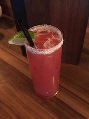 The Prickly Pear Margarita, $5, at Salud! de Mesilla.