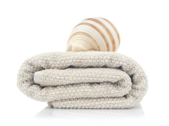 I needed to get here, where there are warm towels and butter shaped like seashells.