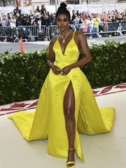 Actress Gabrielle Union attends the Met Gala on Monday