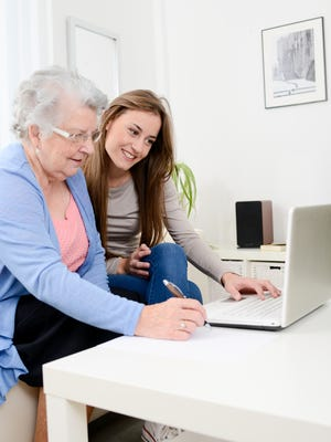 Helping your parents with finances can be a difficult process.