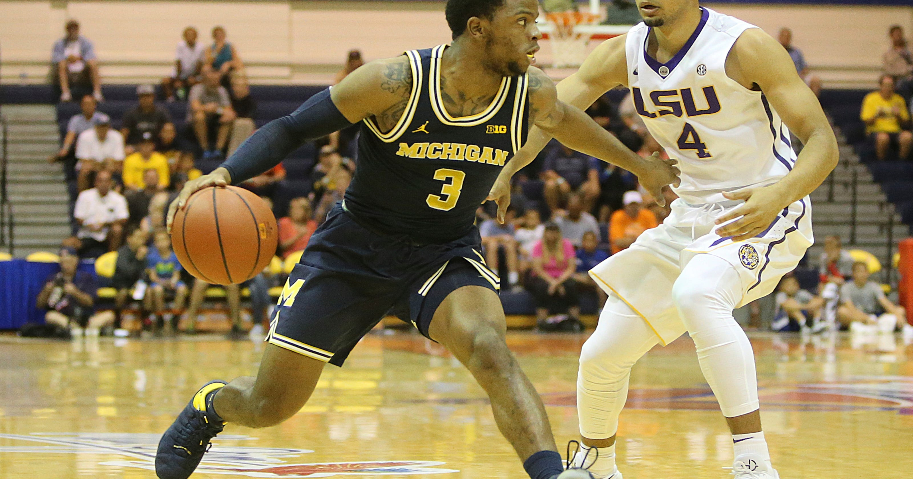 Michigan Wolverines hoops vs. LSU Tigers: Time, TV, radio infomation