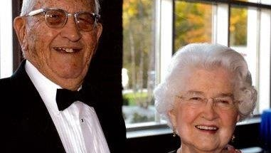 Bud and Jackie Sellick were longtime donors to Butler University. The Butler Bowl is being renamed for them after a $9.4 million gift from their estate.