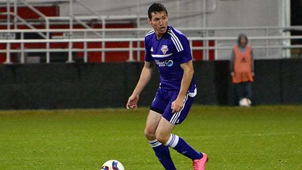 Transylvania graduate Kyle Smith was one of three trial players to sign with Louisville City FC.