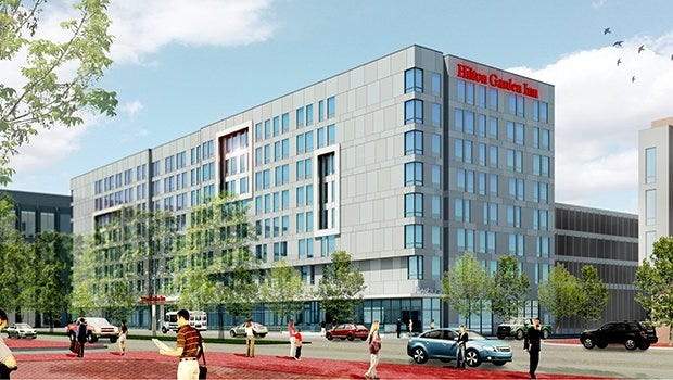 Camden City Council on Tuesday is to consider a tax break for a proposed Waterfront hotel.