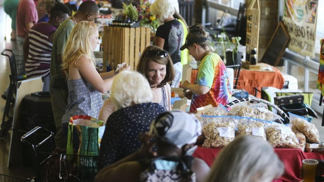 Offerings of the The Farmers Market are going mobile on Monday as Pop-Up Markets will begin operations in various parts of the city. Saturday markets at the Tuscaloosa River Market will remain unchanged.