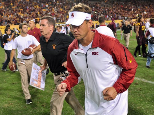 Lane Kiffin's departure from Southern California was messy. But he owned a winning record with the Trojans.