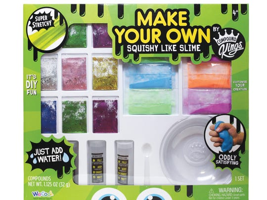 WeCool's DIY Set lets children make their own slime