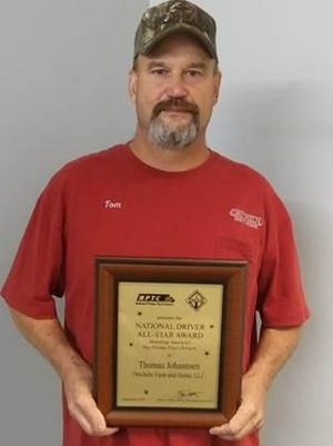 "Tom Johannsen, a driver for Orscheln Farm and Home, recently received the ""Driver All-Star"" recognition from the National Private Truck Council."