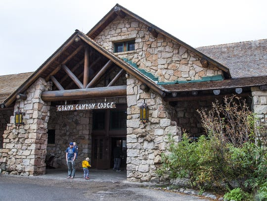 This is the Grand Canyon Lodge at the North Rim as