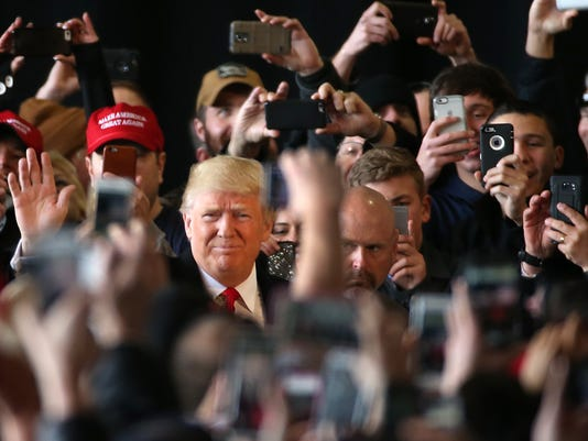 Donald Trump in Rochester