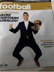 El portugués Cristiano Rolando ganó su cuarto Balón