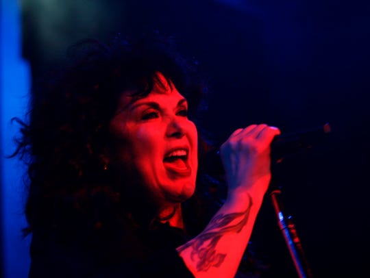 Ann Wilson of Heart performs at the Washington County