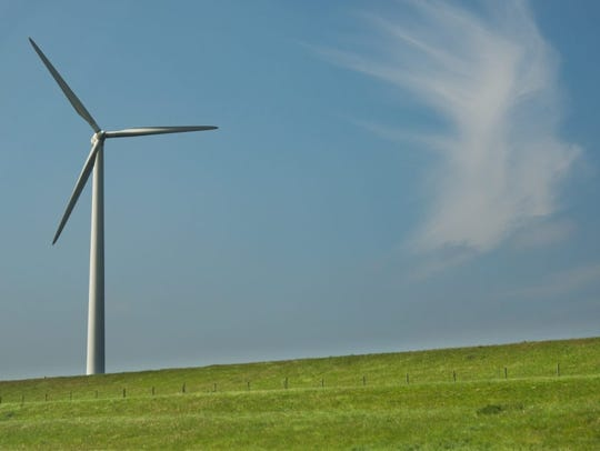 There are 13 operating wind farms in South Dakota.