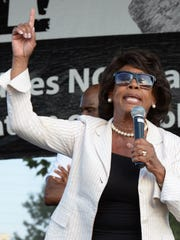 U.S. Congresswoman Maxine Waters (D-Calif.) speaks