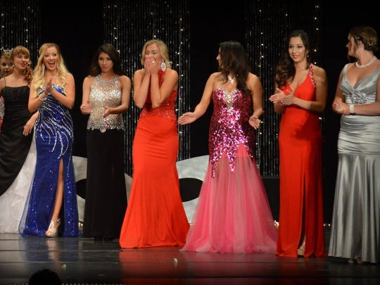 Ryleigh Murphy got emotional as she was announced Miss Otero County at the Sertoma Scholarship Pageant on Saturday, July 23 at the Flickinger Center for Performing Arts.