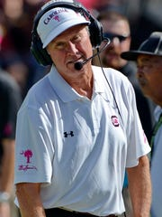 South Carolina Steve Spurrier is looking for his first win over Auburn while at USC.