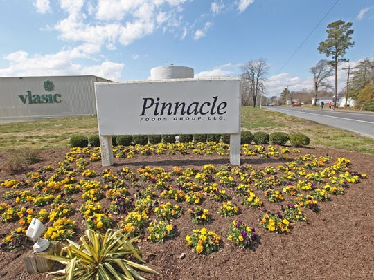 The former Pinnacle Foods plant is being eyed by Allen Harim as a future chicken-processing plant. The repurposing would require new treatment infrastructure to accommodate different types of waste than those dealt with at the pickle factory.