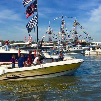 Best way to celebrate Gasparilla: On the water!