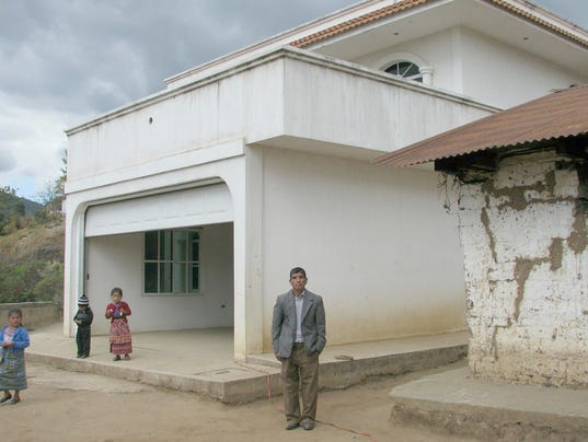 Starving in McMansions: Big homes in poor Guatemala