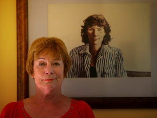 Dee Park, who posed for Andrew Wyeth, at her home in
