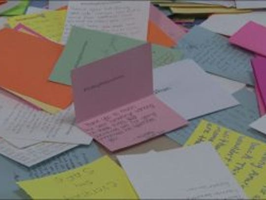 Students at Centennial High School have written more than 1,000 letters to first responders in the Las Vegas mass shooting.