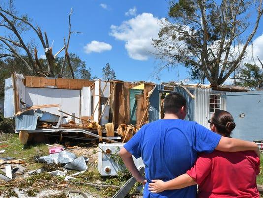 Family loses home to Hurricane Irma tornado