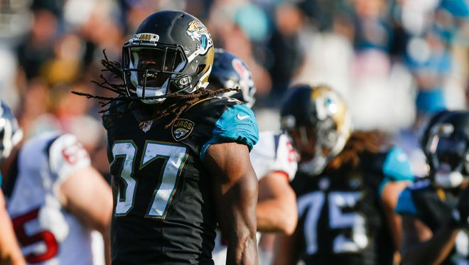 Johnathan Cyprien started all 16 games at strong safety last season for the Jaguars.