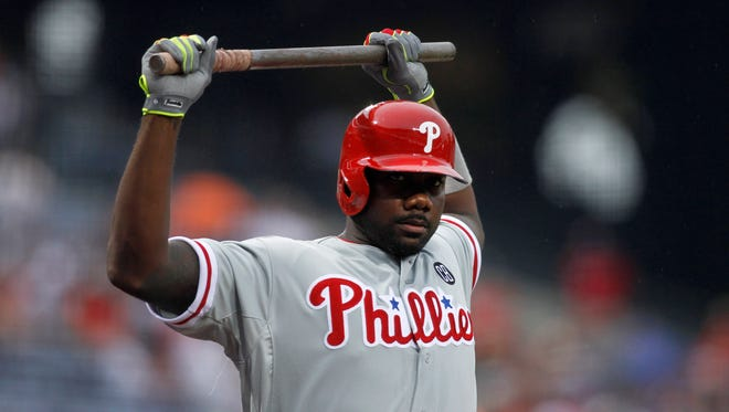 Ryan Howard is batting .224 with a .305 on-base percentage.