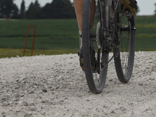 Gravel road riding is becoming increasingly popular