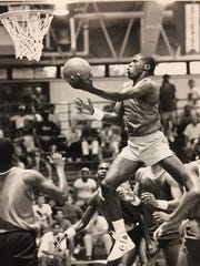 High-flying Jerome Harmon out of Gary.