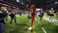 Fans of Arizona's NFL franchise rejoiced upon hearing that the Cardinals' Larry Fitzgerald is not retiring.