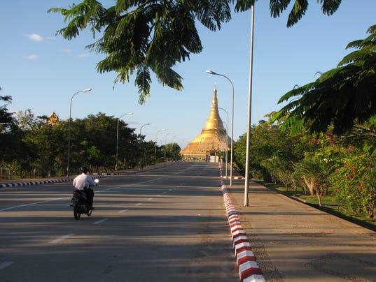 Nay Pyi Taw highway