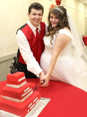 Courtney and Spencer are celebrating one year of marriage on Oct. 15, 2017.