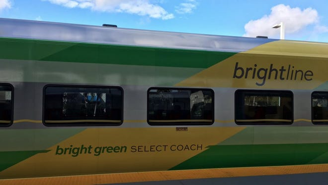 BrightGreen at the Fort Lauderdale station on Jan. 12, 2017.