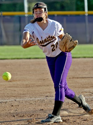 Johnston's Haylee Towers has helped her team hang on to the No. 1 ranking in Class 5-A.