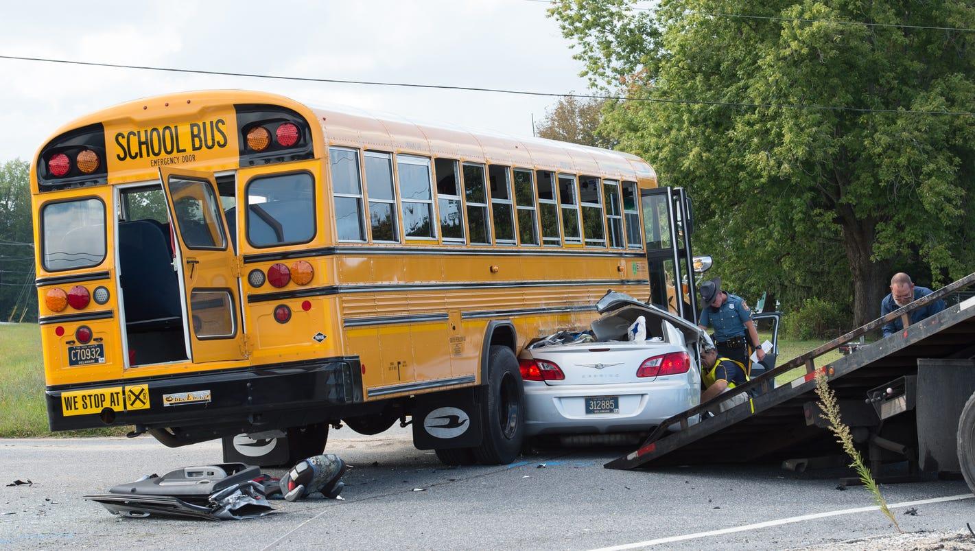 Milton Man Critical After Crash With Cape Henlopen School