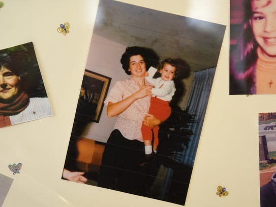This is the only photography Rosemarie D'Alessandro has of both her and her daughter Joan. Rosemarie D'Alessandro will unveil a child safety forever fountain in the White Butterfly Garden, in front of the Hillsdale Train Station, in honor of her daughter, Joan Angela D'Alessandro, on April 19, 2017, the 45th anniversary of her death. Joan was seven-years-old when she was murdered by her neighbor while delivering Girl Scout cookies on April 19, 1973.
