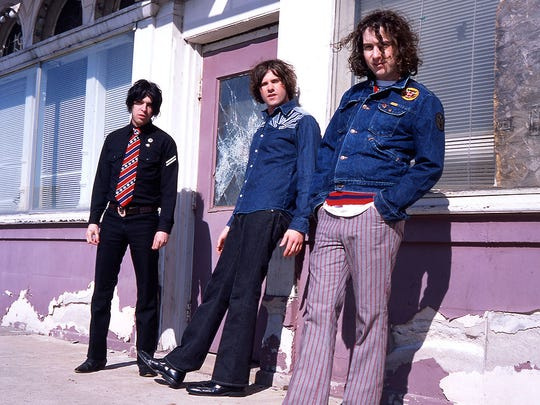 Soledad Bros, left to right: Ben Swank, Brian Olive, Johnny Walker.