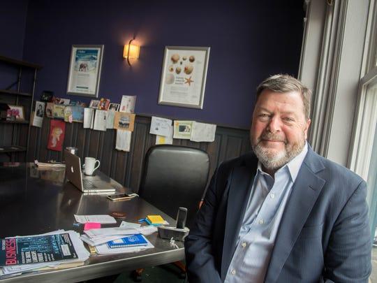 Mike Ciavolino, owner of Shore Creative Group, Long