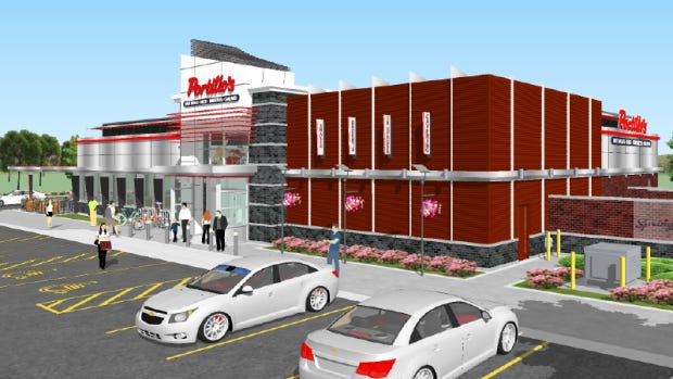 A rendering of the Springfield Portillo's slated to open in mid-November 2020.