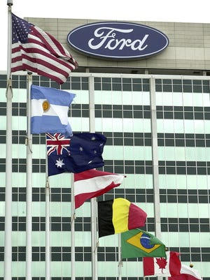 Ford is being sued by a contract employee who was terminated after anti-gay comments.