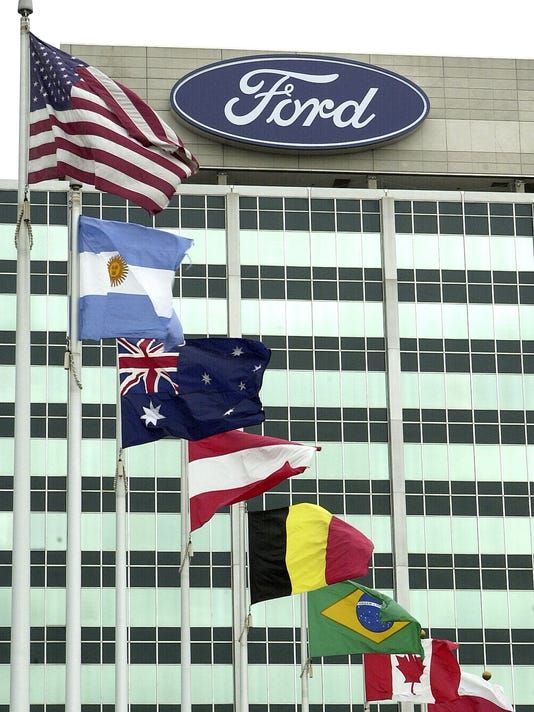 Ford headquarters in Dearborn