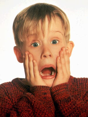"""Macaulay Culkin reprises his role of Kevin McCallister in """"Home Alone"""" for new Google Home ad. He re-enacts popular scenes from the classic holiday movie."""