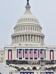 Inauguration of President Donald J. Trump at the Capital in Washington D.C.