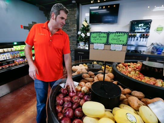Paul Allen, co-owner of Farm 2 Counter, talks about