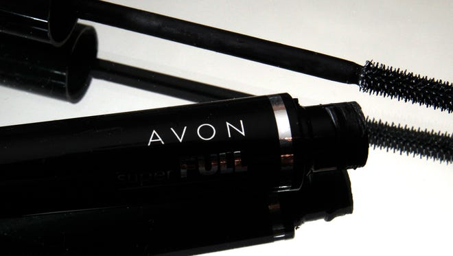 This July 28, 2010 file photo shows a container and brush of Super Full mascara by Avon in North Andover, Mass.